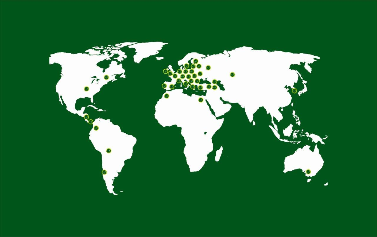 Jubana globe green
