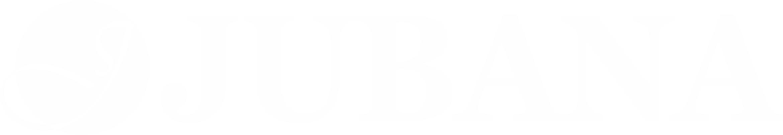 Jubana logo white