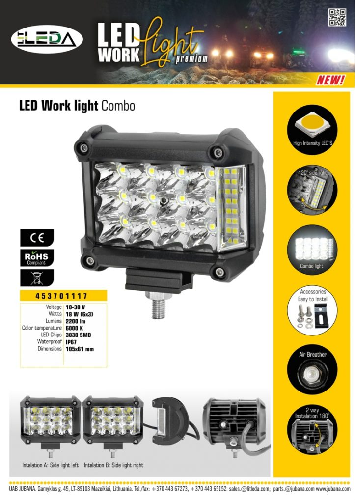 453701117 Litleda LED