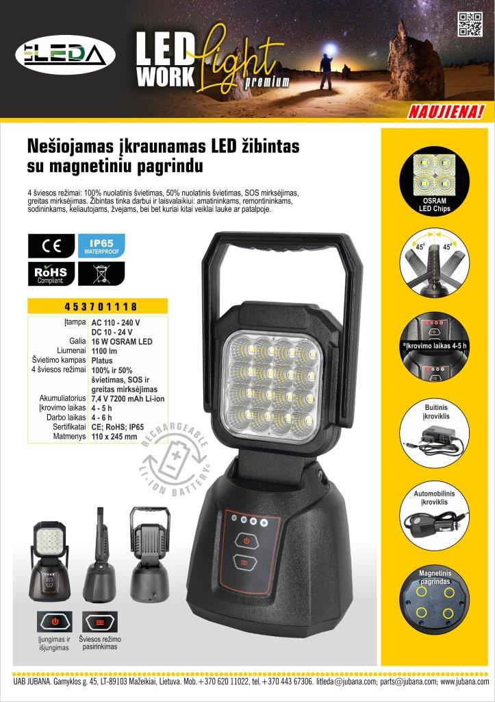 LITLEDA 453701118 LED Work light LT