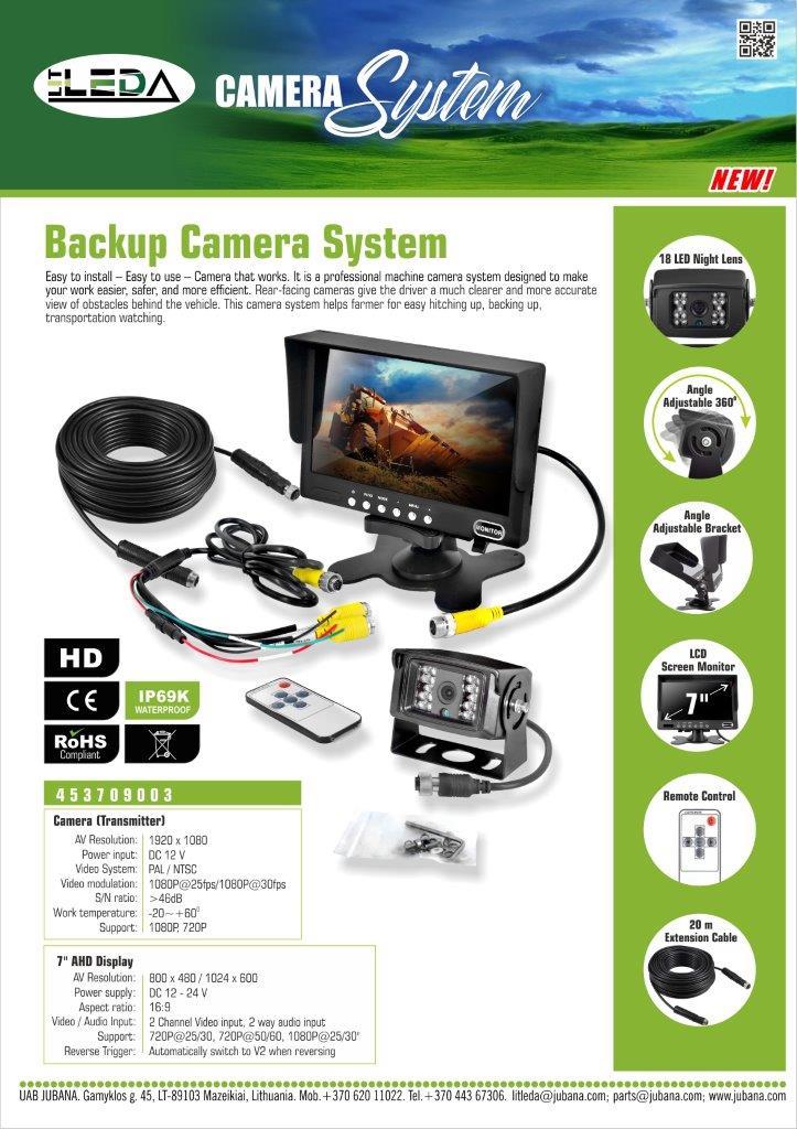 Naujienos video sistema 453709003 LITLEDA